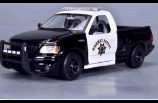 Ford Svt F-150 Lightning Policía Maqueta