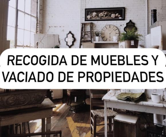 RECOGIDA DE MUEBLES Y VACIADO DE PROPIED - foto 1