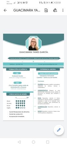CONFECCIONO CV Y CARTA DE PRESENTACIÓN - foto 1