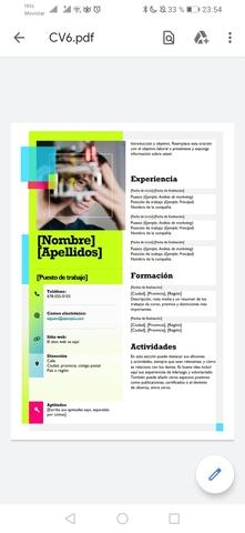CONFECCIONO CV Y CARTA DE PRESENTACIÓN - foto 3