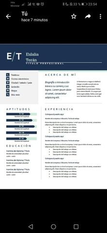 CONFECCIONO CV Y CARTA DE PRESENTACIÓN - foto 4