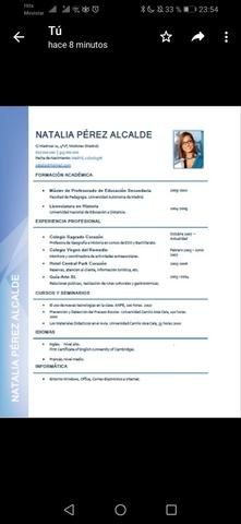 CONFECCIONO CV Y CARTA DE PRESENTACIÓN - foto 6