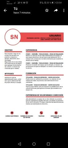 CONFECCIONO CV Y CARTA DE PRESENTACIÓN - foto 7