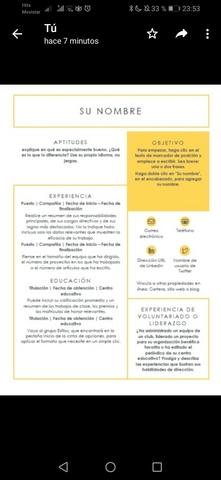 CONFECCIONO CV Y CARTA DE PRESENTACIÓN - foto 9