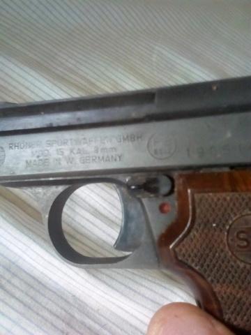 Pistola Fogueo