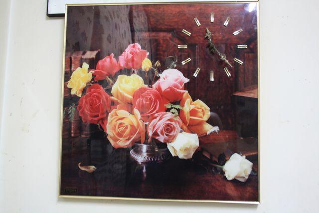 Reloj Cuadro Años 70