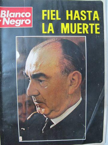 Revista Blanco Y Negro. Diciembre 1.973