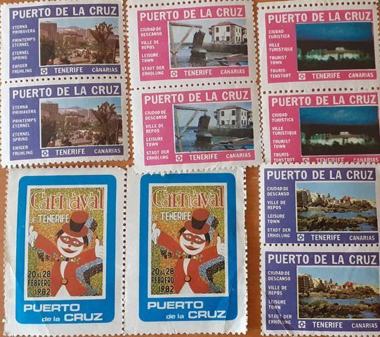 Sellos Antiguos Del Puerto De La Cruz