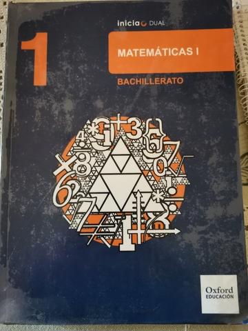 MATEMÁTICAS 1*  BACHILLERATO - foto 1