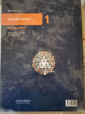 MATEMÁTICAS 1*  BACHILLERATO - foto 2