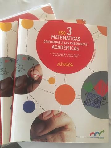 Mil Anuncios Com Libro Matemáticas 3 Eso