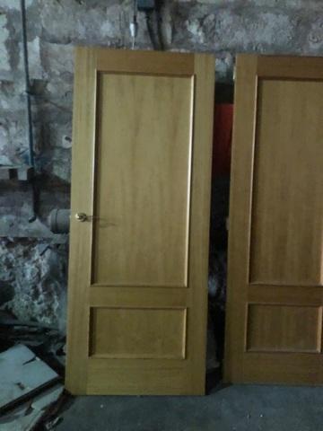 Puertas De Paso Macizas