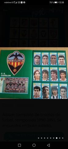 ALBUM CROMOS FÚTBOL,  TEMPORADA 90-91 - foto 8