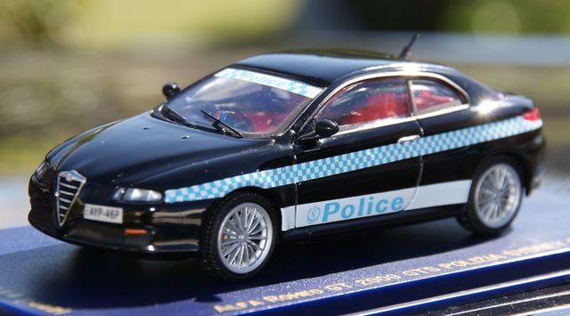 Alfa Romeo Gt 2000 Gts Policia Sydney 20