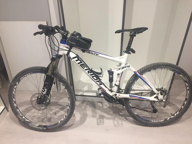 """Bicicleta Mtb Merida 26""""Doble Suspensión"""