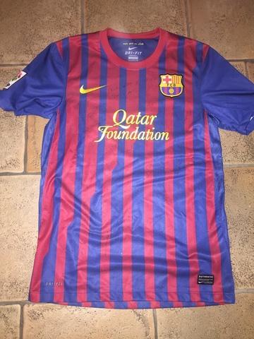 Camiseta Del Barça Firmada
