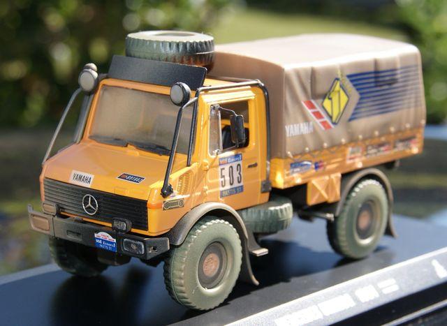 Camion Mercedes Unimog 1984 Dakar P.Bone