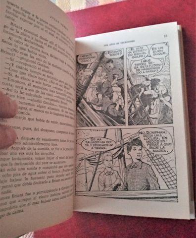 LIBRO DE JULIO VERNE DOS AÑOS DE VACACIO - foto 2