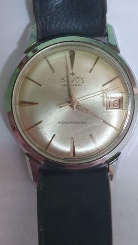 Reloj Suizo Stvos 21 Rubíes Años 60