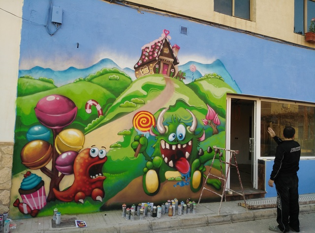 GRAFFITI DECORACION MADRID - foto 3