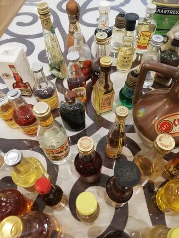 Mini Botellas Antiguas