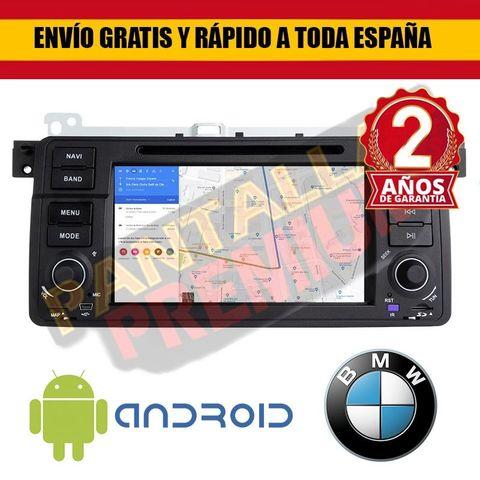 RADIO PANTALLA ANDROID 9.  0 PARA BMW E46 - foto 1