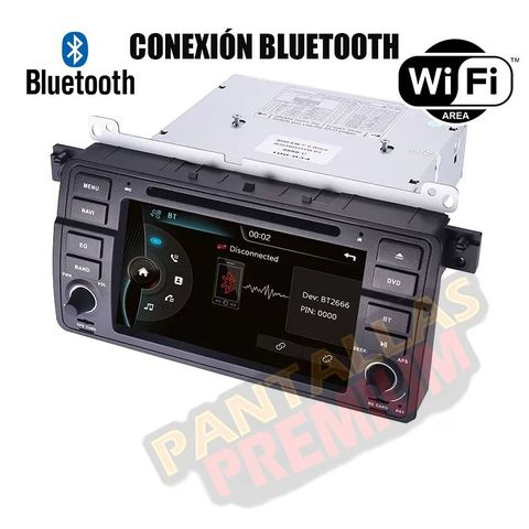 RADIO PANTALLA ANDROID 9.  0 PARA BMW E46 - foto 4
