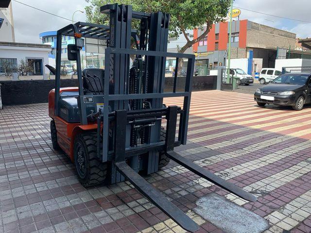 CARRETILLA ELEVADORA VMAX CPCD30 - foto 5