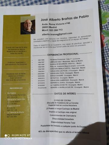 GERENTE HOSTELERIA DISCAPACIDAD - foto 2