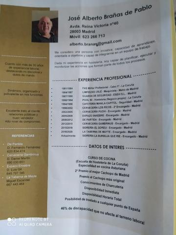 GERENTE HOSTELERIA DISCAPACIDAD - foto 5