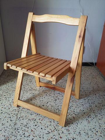 sillas de madera con reposamanos lloret de mar