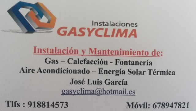 INSTALADOR GAS CALEFACCION FONTANERIA - foto 1