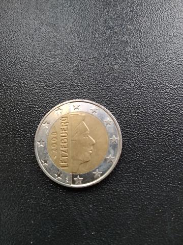 Moneda 2 Euros Luxemburgo