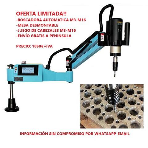 BRAZO DE ROSCADO AUTOMÁTICO M3- M16 - foto 1