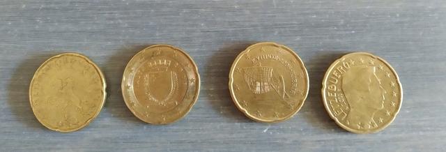 Monedas De 20 Céntimos De Euro