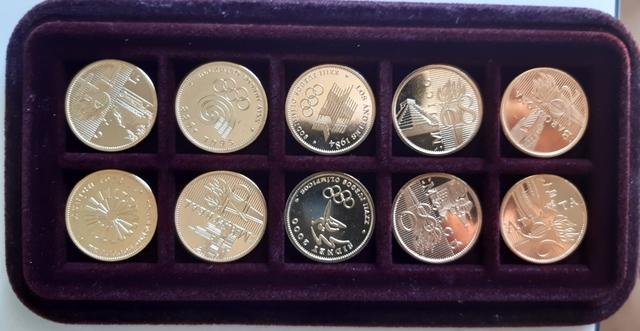 Monedas Conmemorativas Juegos Olímpicos