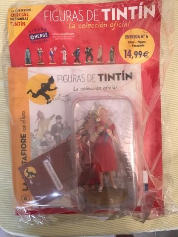 Figura Castafiore Colección Tintín