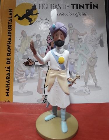 Figura Maharajá Colección De Tintín