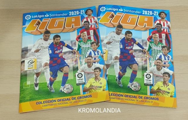 2 Álbum Liga Este 2020-21