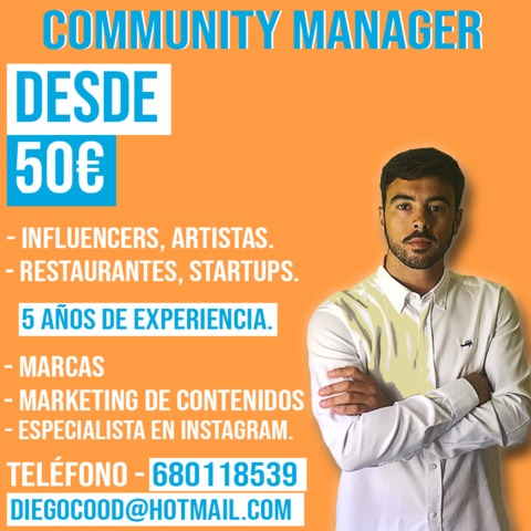 COMMUNITY MANAGER - TENERIFE - foto 1