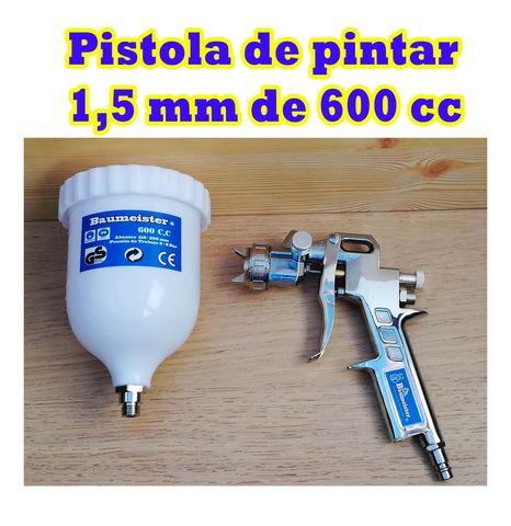 Pistola De Pintura- Capacidad 600 Cc