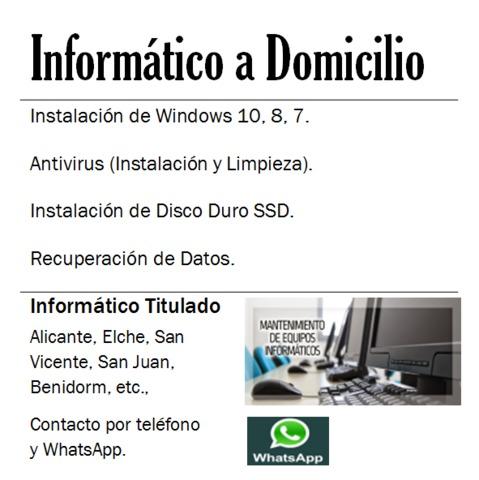 INFORMÁTICO A DOMICILIO - foto 2