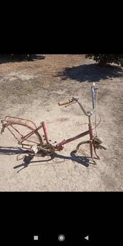 Cuadro De Bicicleta Para Restaurar.