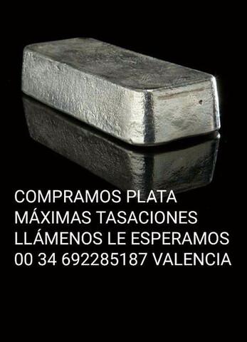 COMPRO PLATA. .  - foto 1