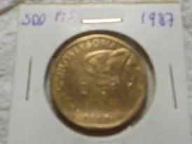 Monedas De 500 Ptas 1987-2000