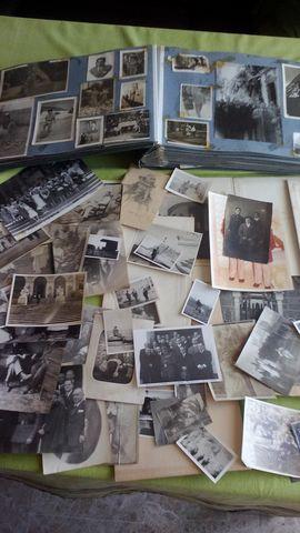 Lote Fotos + Álbum Antiguos