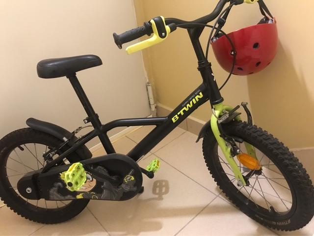 Bicicleta De Niños 16 Pulgadas Seminueva