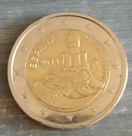 Moneda Conmemorativa 2 Euros España 2014