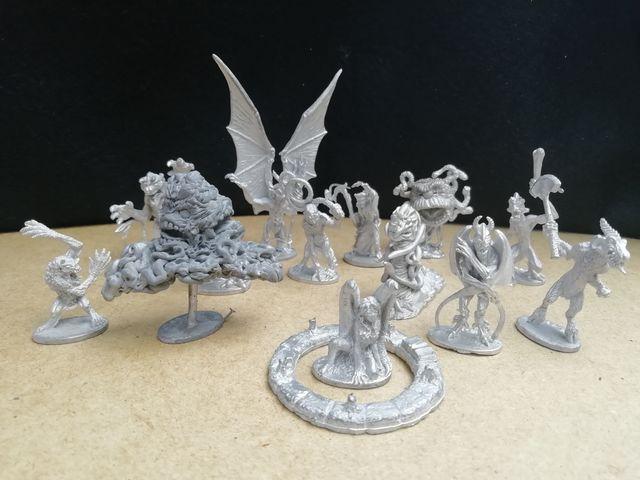 Figuras De Plomo Dungeons & Dragons