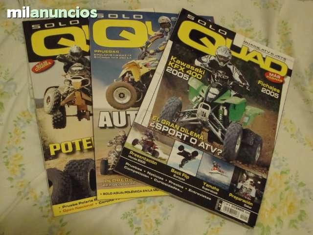 LOTE 3 REVISTAS SOLO QUAD-CAMBIO X JUEGO - foto 1